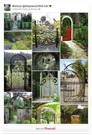 Small Picture Creative Garden Gate Idea Gallery Empress of Dirt