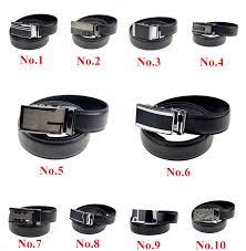 Types Of Designer Belts 10 Types Fashion Designer Leather Belts For Men Good Quality Automatic Buckle Black Casual Business Belt Brand Cinturones Mujer Gold Belt Gait Belt