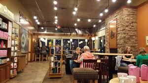 Caribou Coffee: Coffee shop interior.