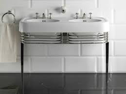 Image Chrome Archiproducts Double Console Sink Wide Blues By Devondevon