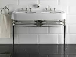 double console sink wide blues by devon devon