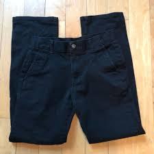 Chaps Boys Size Chart Chaps Boys Black Pants