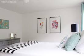 Bright White Master Bedroom Update