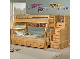 Trendwood Bunkhouse Twin/Full High Sierra Bunk Bed | Conlin\u0027s ...