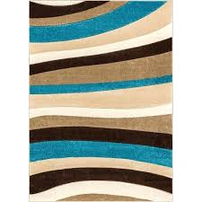 blue and brown area rugs winston porter albion rug well woven rad wave brown blue area rugs