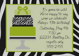 4th birthday invitation awesome unique 13th birthday invitations for s free printable party