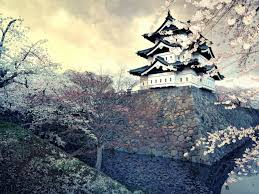 Hirosaki Castle Japan Hintergrundbilder Hirosaki Castle