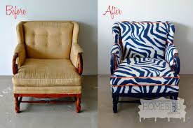 Before & After Upholstery Photo