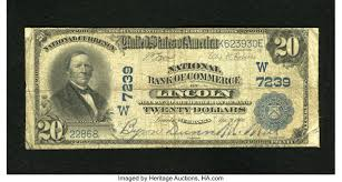 Lincoln, NE - $20 1902 Plain Back Fr. 650 NB of Commerce Ch. # | Lot #21533  | Heritage Auctions