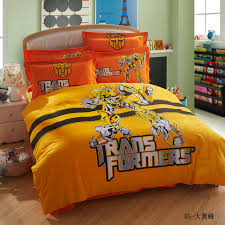 100 cotton cartoon optimus prime blebee transformers bedding set transformer bedding set home remodel ideas