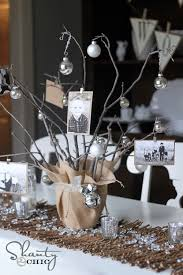 she decorated this with ornaments and silver bells but you could add wver decorations fit your mood