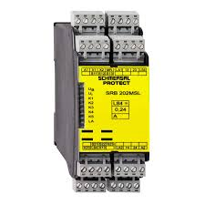 Din Rail Light Safety Relay For Light Curtain Din Rail Srb 202msl