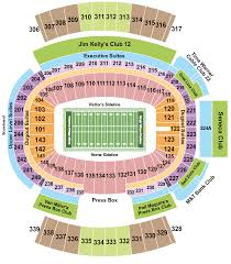 One Direction Buffalo Seating Chart New Era Field Seating Chart Rows Seat Numbers And Club Seats