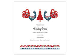 Online Christmas Party Invitations With Holiday Music And