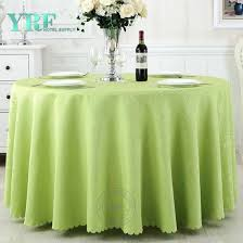 beautiful 108 round green table cover factory for wedding rh yrftextile com round garden table cover
