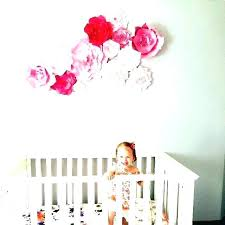 nursery decor girl nursery wall decor ideas wall decor for baby girl nursery paper flower wall nursery decor girl