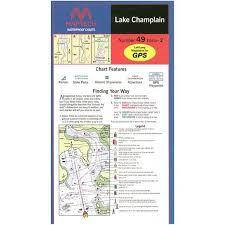 Lake Champlain Waterproof Chart By Maptech Wpc049