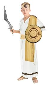 kids greek zeus costume