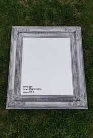 mirror frame. Unique Mirror Glazed Ornate Mirror Frame MyRepurposedLifecom In Mirror Frame