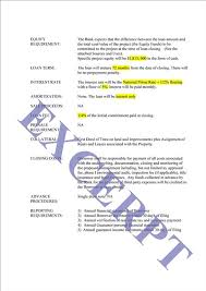 Loan Letter Of Intent Realcreforms