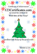 Printable Christmas Certificates Printable Holiday Certificate Templates And Award Ideas