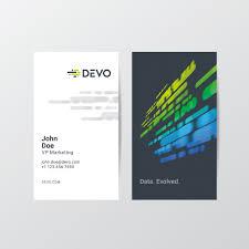 Devo Inc Brand Identity Business Card Design Delin Design