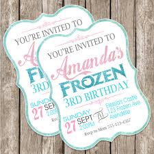 make your own frozen invitations frozen birthday invitation frozen birthday party diy printable