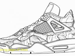 Air Jordan Coloring Pages Nike Shoes Coloring Sheets