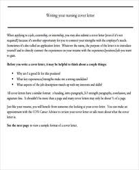 nursing cover letter format example cover letter what is it