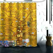 wterpro bathrooms colorful tree of life shower curtain
