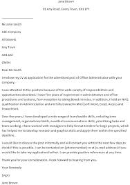 Office Administration Cover Letters Office Administrator Cover Letter Learnist Org