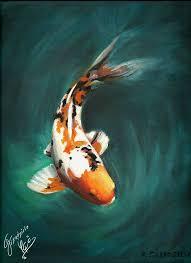 koi the dragon fish by grzadziela on deviantart
