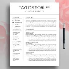 How To Create A Modern Resume In Word Modern Resume Cv Template 3 Page Minimalist Resume Simple Resume Mac Professional Resume Template Word Creative Resume Pages Download