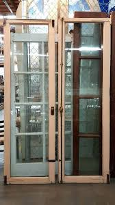 pair of beveled glass doors white internal cool front door repair in patio new