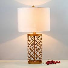 solid brass table lamps classical antique metal american vintage style hotel desk