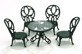 Sylvanian Families Garden Table  Chairs Toyworld - Swivel classy sylvanian families living room set
