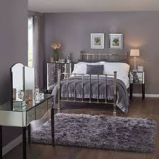 Elegant Viola Mirrored Bedroom Collection