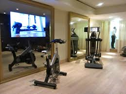 Interior:Impressive Basement Gym Decor Idea Impressive Basement Gym Decor  Idea