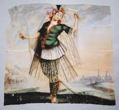 turška plesalka svilena ruta po sliki turška plesalka iz serije