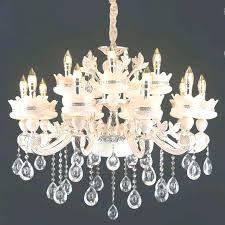 plastic chandelier