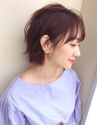 くせ毛風カジュアルショート ヘアカタログ髪型ヘアスタイルafloat