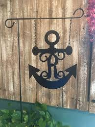 14 nautical anchor initial monogram