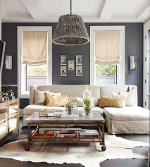 room cowhide rug 25 homely elements to include in a rustic dà cor gray color scheme living