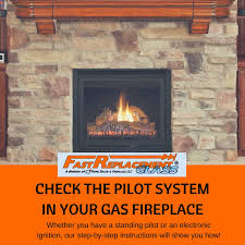 check the pilot system in your gas fireplace free infographic included