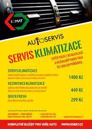 Servis klimatizace – KOMAT.cz – kompletní služby pro Vaše auto