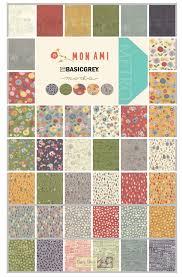 Mon Ami charm squares by Basic Grey for Moda Fabrics - patchwork ... & Mon Ami charm squares by Basic Grey for Moda Fabrics - patchwork and quilting  fabric Adamdwight.com
