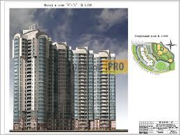 Проект строительства секционного этажного жилого дома  163 Проект строительства 4 секционного 21 25 этажного жилого дома в г Санкт Петербург