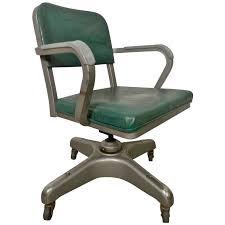 mid century office chair. mid-century heavy duty desk chair by metal-lux for sale mid century office n