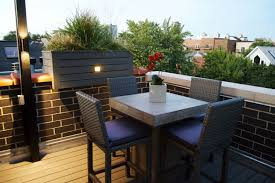 rooftop furniture. Outdoor Dining Area Rooftop Furniture