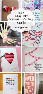25 diy easy valentine s day cards nobiggie net